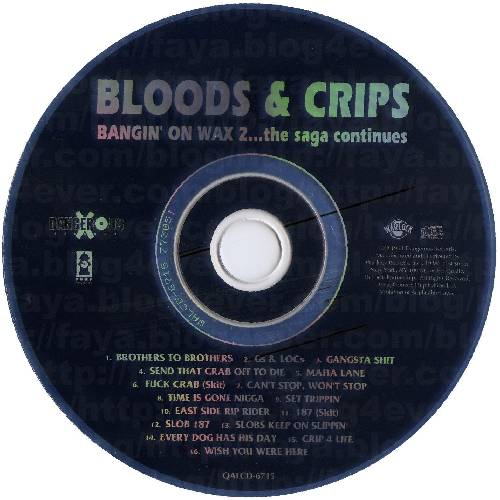 Bloods &Amp; Crips Discography Torrent